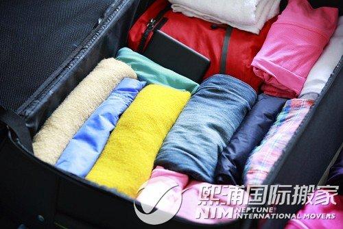 行李托运回国